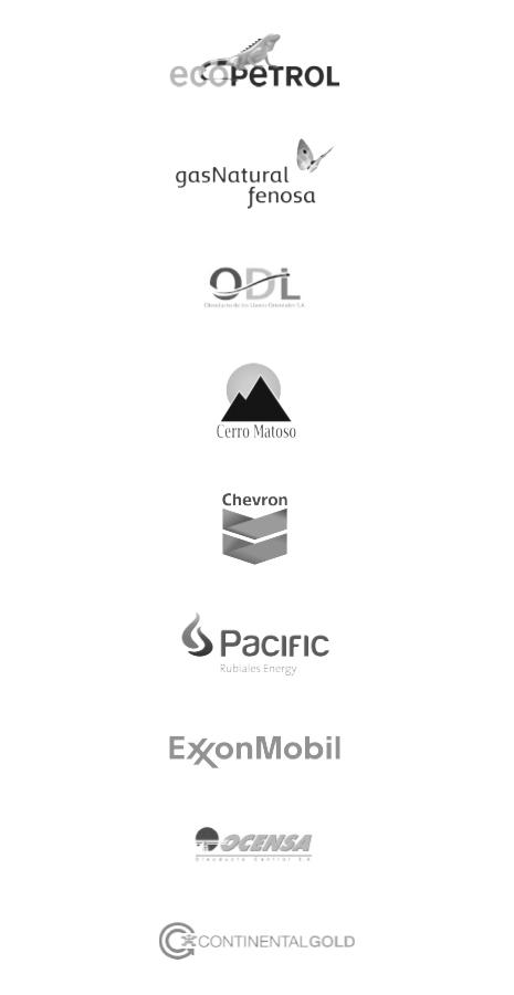 Nuestros clientes Oil & Gas versión mobile
