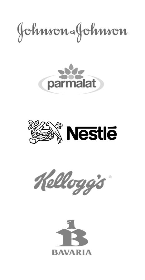 Nuestros clientes Empresas versión mobile