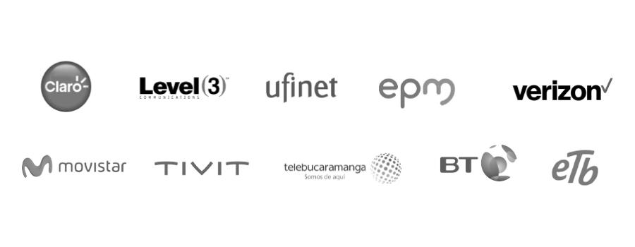 Nuestros clientes Telecomunicaciones